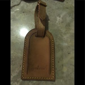 Authentic lv luggage tag